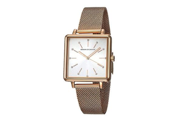 Armani Exchange Analog Silver Dial Womens Watch 1609075085370