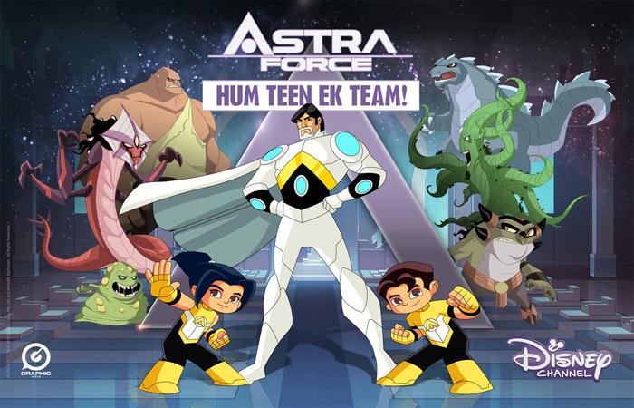 Amitabh Bachchan's Disney Superhero Animation, Astra Force, Now on Amazon Prime Video