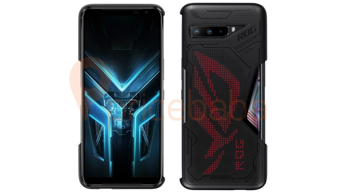 Asus ROG phone 3 battery weibo inline case sad