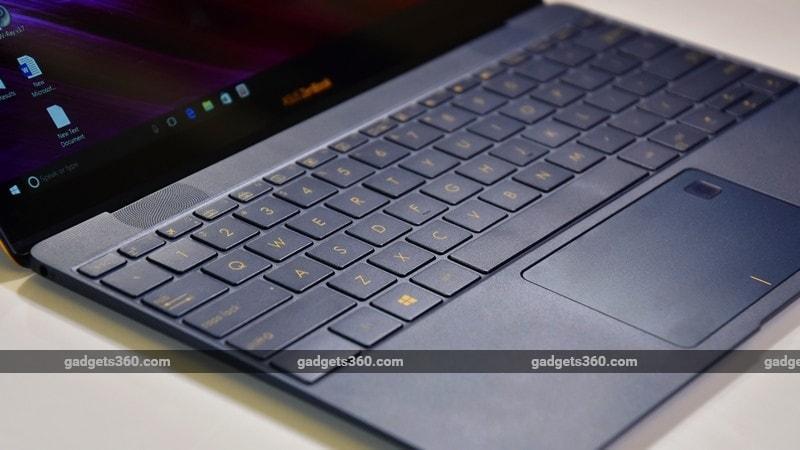 Asus ZenBook 3 palmrest ndtv Asus ZenBook 3