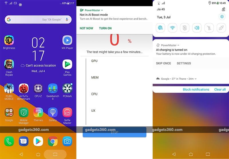 Asus ZenFone 5Z Screenshots Asus ZenFone 5Z Review