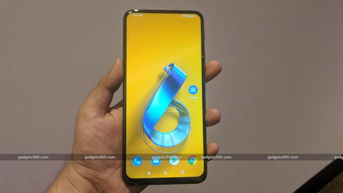Asus ZenFone 6 With Flip Camera, Snapdragon 855 SoC, 5,000mAh Battery Launched: Price, Specifications