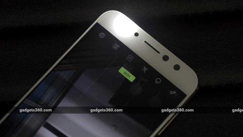 Asus Zenfone 4 Selfie Pro front flash ndtv asus