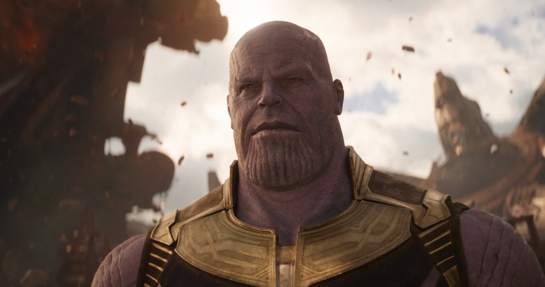 Avengers Infinity War thanos close Avengers Infinity War