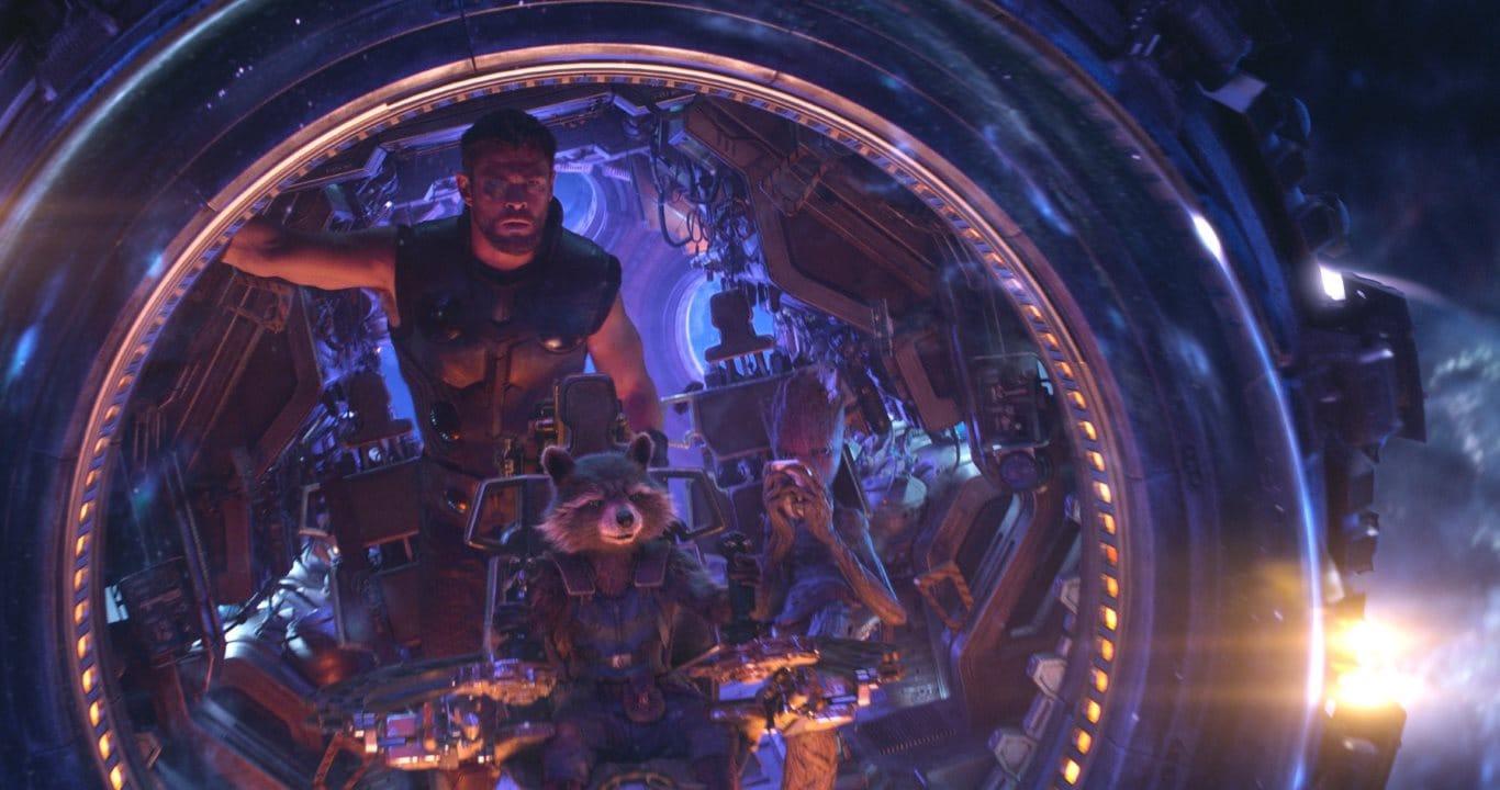 Avengers Infinity War thor rocket groot Avengers Infinity War