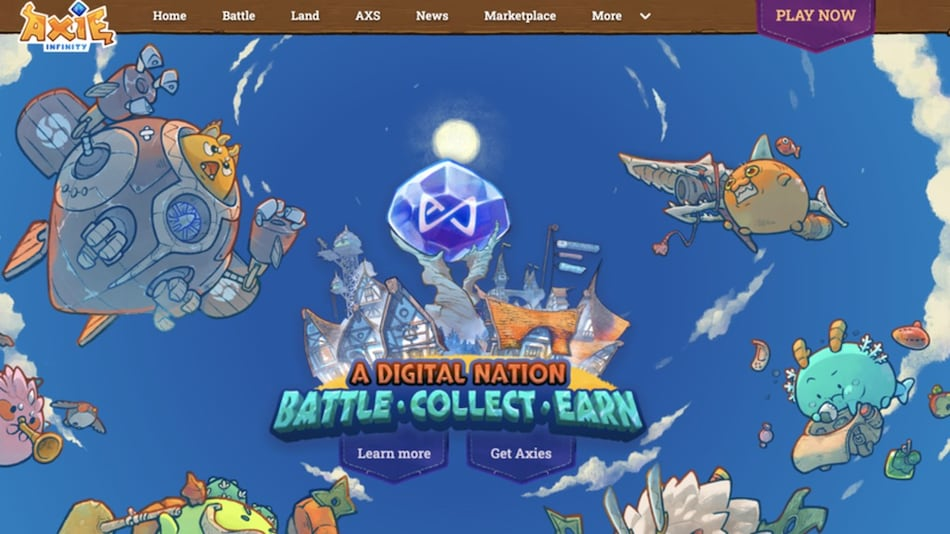 Axie Infinity's Strong Growth Suggests NFT Gaming Market Is Set to Explode