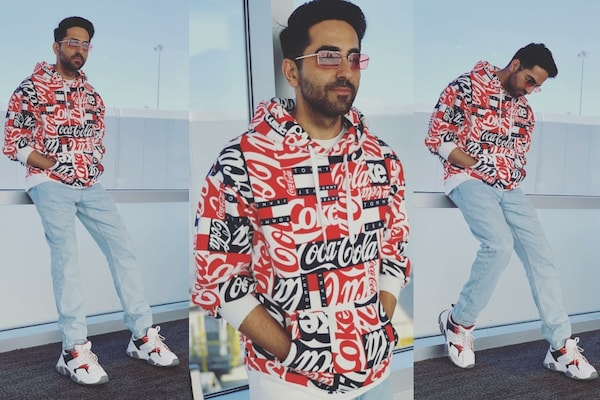 Ayushmann Khurrana's Casual Game On Point