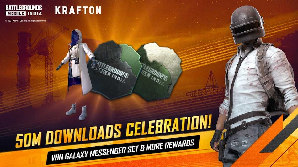 Battlegrounds Mobile India Crosses 50 Million Downloads, Players Rewarded With Galaxy Messenger Set Outfit