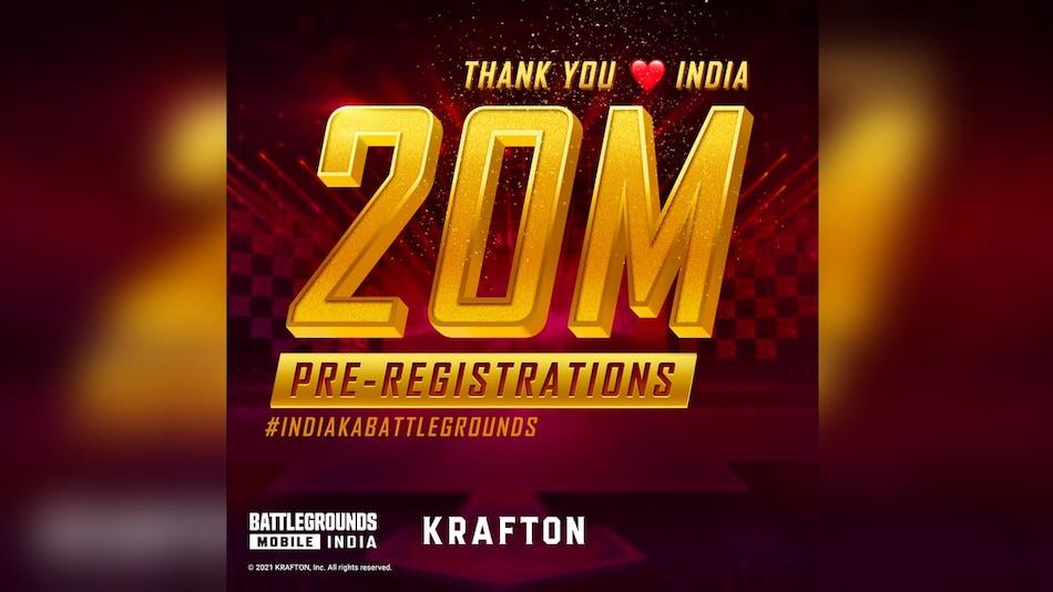 Battlegrounds Mobile India के प्री-रजिस्ट्रेशन की संख्या भारत में 2 करोड़ के पार, लॉन्च तारीख पर सस्पेंस बरकरार
