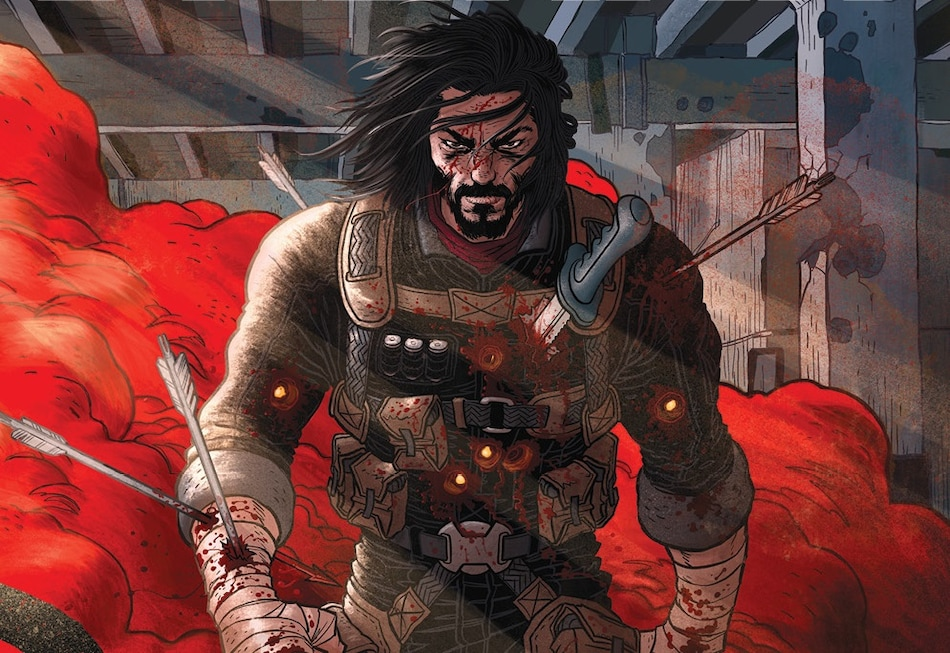 Netflix, Keanu Reeves Team Up on Brzrkr Movie, Anime Spin-Off Series
