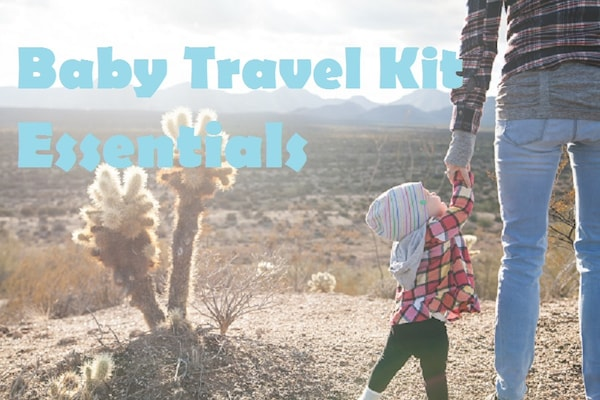 Baby Travel Kit Essentials for Babies