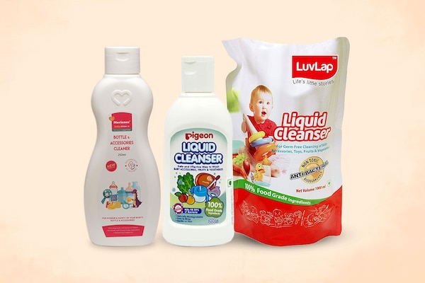 Best Liquid Cleansers For Baby Products