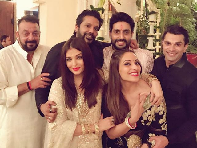 Starry, Starry Night. Inside the Bachchans' Grand Diwali Party