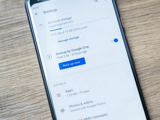 Google Updating Android Backup to 'Backup by Google One': Report