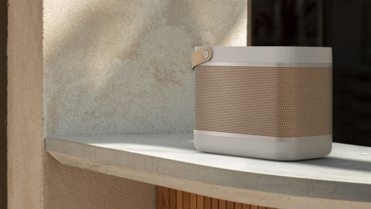 Bang & Olufsen's newest lunch box speakers have built-in Qi wireless chargers