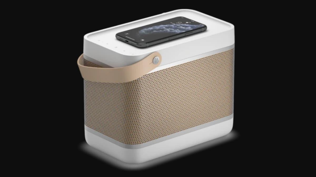 बँग ओलुफसेन बीओलिट 20 चार्ज करीत आहे