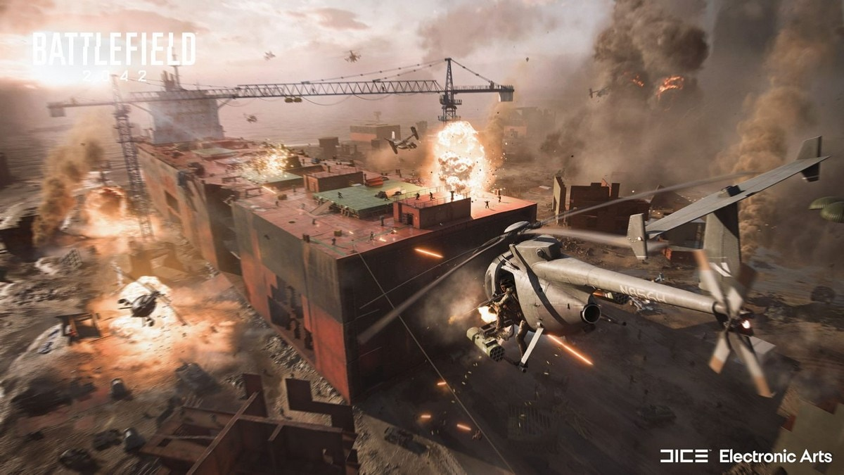 Battlefield 2042 Will Use AI Bots to Fill Up 128-Player Matches: Report