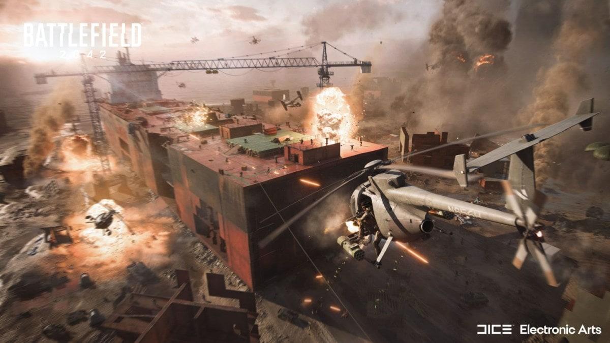 Battlefield 2042 helicopter EA DICE Battlefield 2042