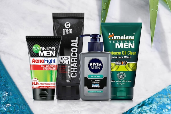 Best Anti-Pimple Face Washes for Men