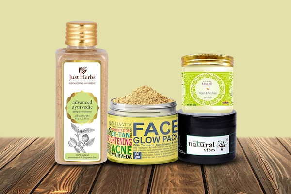 Soothing Ayurvedic Face Packs For Acne Prone Skin