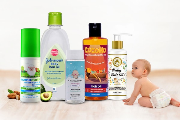 Top Baby Hair Oils For Delicate Scalp