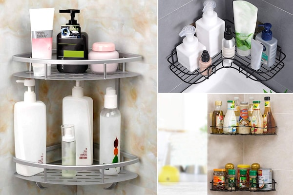 Make The Most Of Your Bathroom Corners With These Bathroom Corner Racks