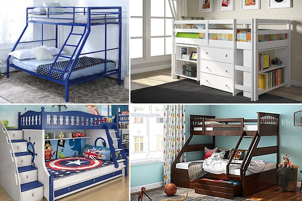 Fun Bunk Beds That Are Very Useful As Well