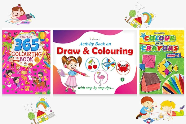 Coolest Colouring Books For Kids To Keep Them Away From Screens