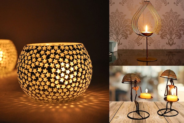 Decorative Candle Holders For That Enchanting First Impression