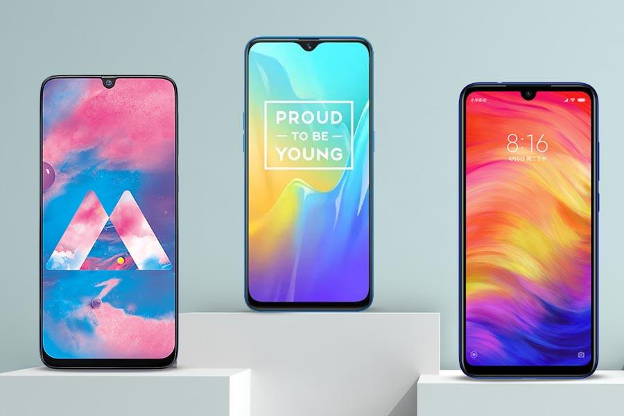 Best Water Drop Notch Display Phones in India (August 2019
