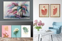 Give A Blissful And Fresh Twist To Your Walls With These Floral Paintings