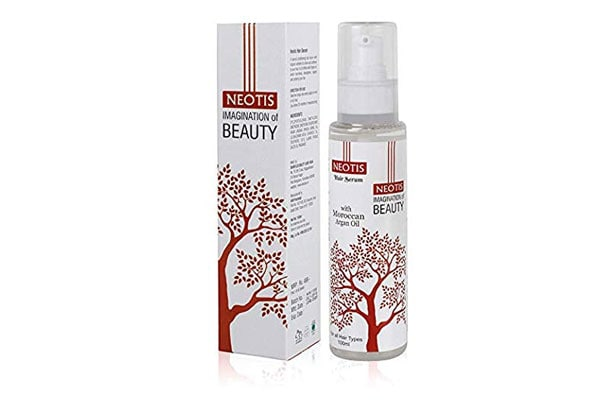 Neootis Hair Serum With Moroccan Argan - Instant Smoothing For Straightening, Frizzy Hair And Dry Hair for Men and Women