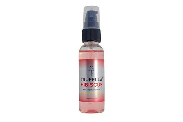 Trufella Hibiscus & Argan Anti-Frizz Serum, Frizzy, Dry, Unmanageable Hair