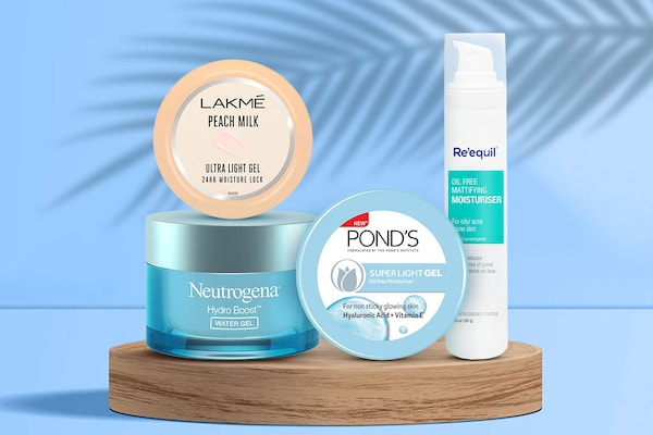 Water-Based Gel Moisturisers: Super Lightweight And Quick Absorbing