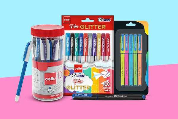 Gel Pens For Smooth, Neat And Consistent Writing