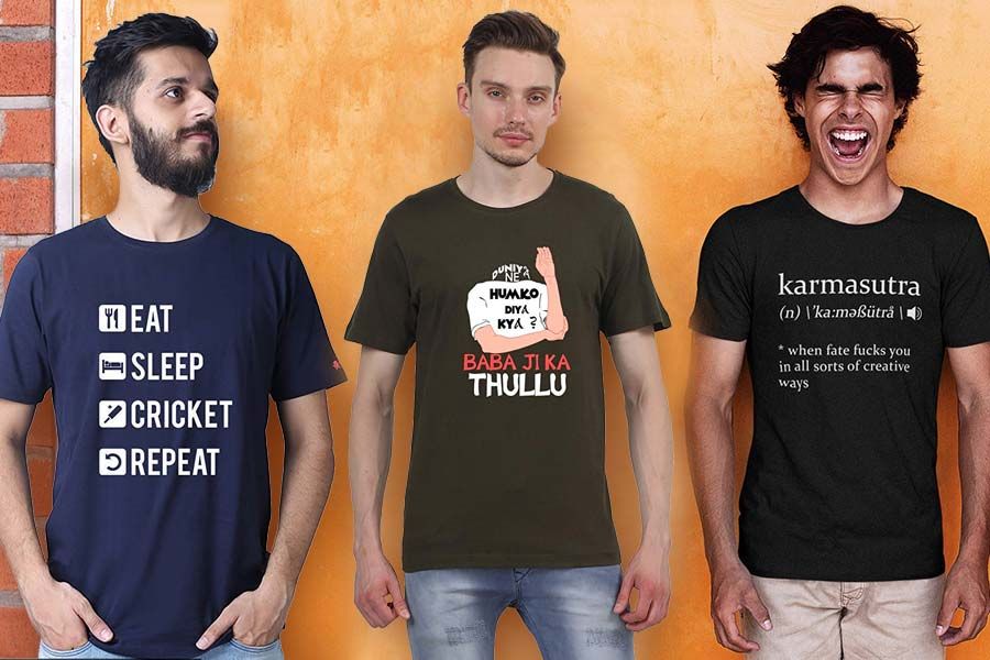 Graphic T-Shirts For Men, Tweak With Quirky Slogans