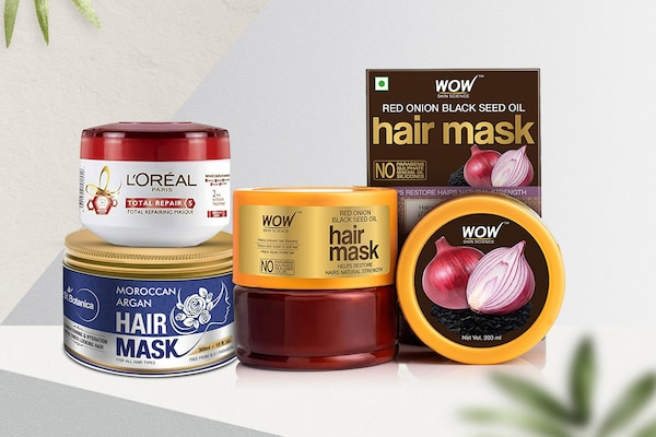 Hair Masks To Tame Unruly Frizz And Treat Damaged Hair