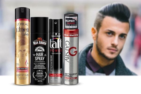 Best Hair Sprays for Men