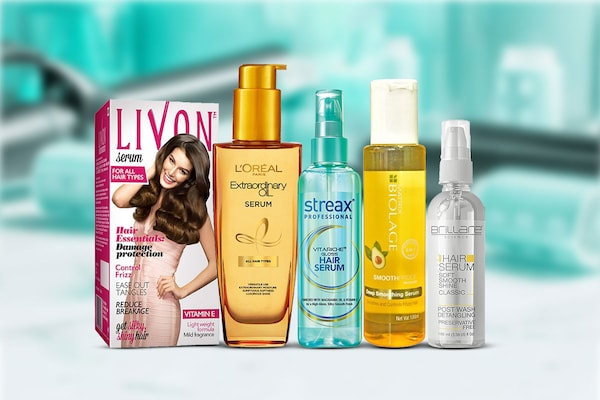 Hair Styling Serums For Frizz Free Smooth Hair