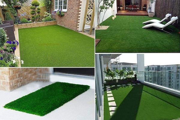 High-Density Artificial Grass Mats That Are Soft And Comfortable