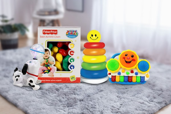 Toys For Infants: Keep The Little Ones Entertained