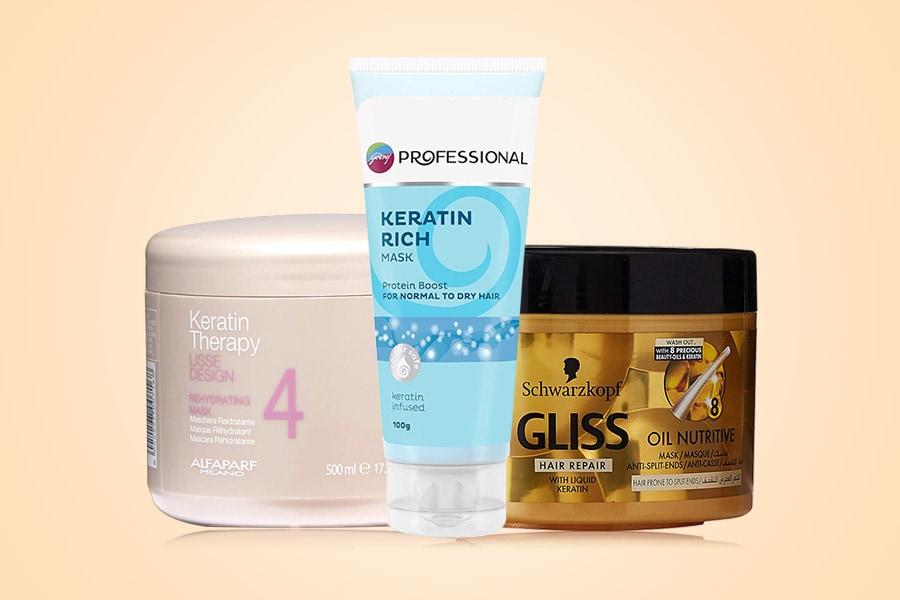 10 Best Keratin Hair Masks in India