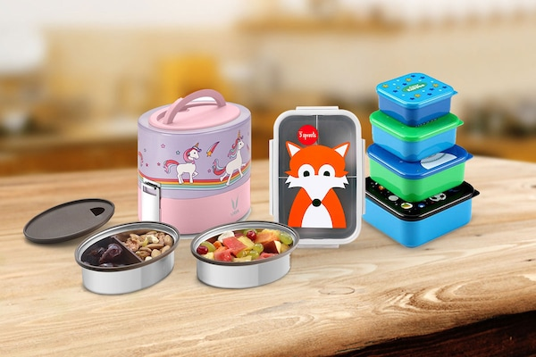 Pack Your Kid's Lunch In These Adorable Lunch Boxes