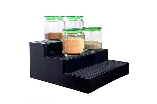 Best Kitchen organizer VHPL Kitchen Organiser Shelf Plastic Stand 1558528284774