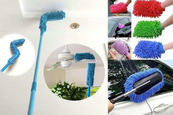 Best Flexible Microfiber Cleaning Duster Brush