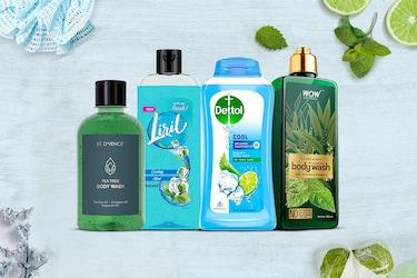 Mint Body Washes For Women: Formulas For Instant Freshness