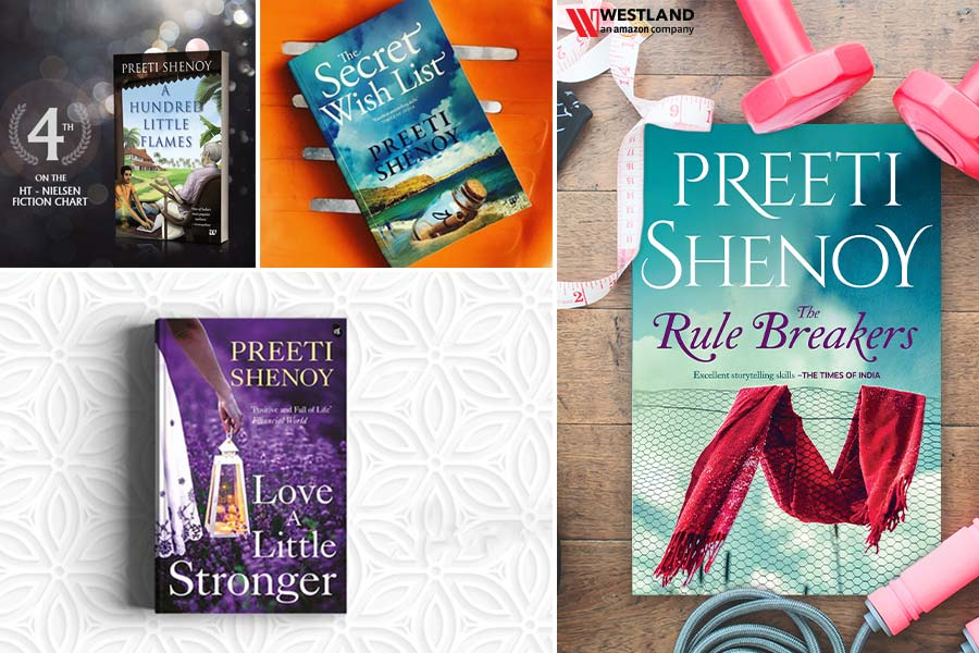 10 Must Read Books of Preeti Shenoy
