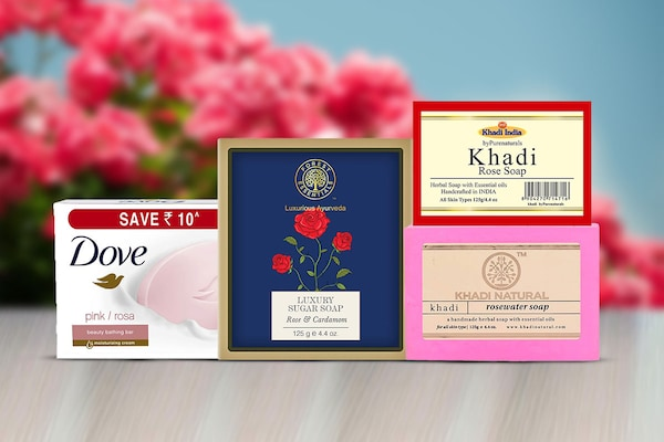 Rose Soap Bars: Mild Bathing Cleansers For Glowing Skin Tone