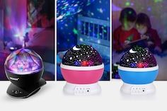 Rotating Projector Lamps