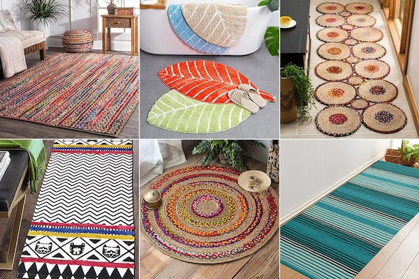 Eye-Catching And Comfortable Rugs For Living Area